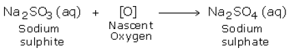 nascent oxygen reaction