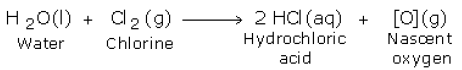 nascent oxygen reaction 1