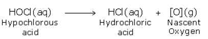 reaction of chlorine with water 2