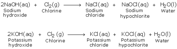 reaction with alkali 1