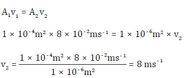 velocity between b and c