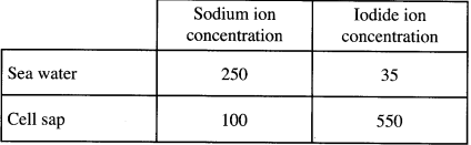 sodium and iodine KCSE 2014