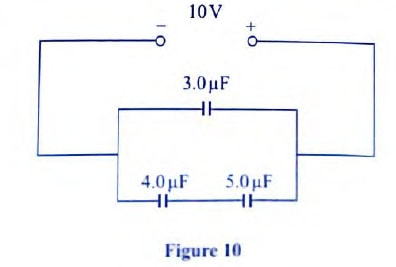 connected capacitors