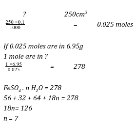 moles MOCKS questions and answers